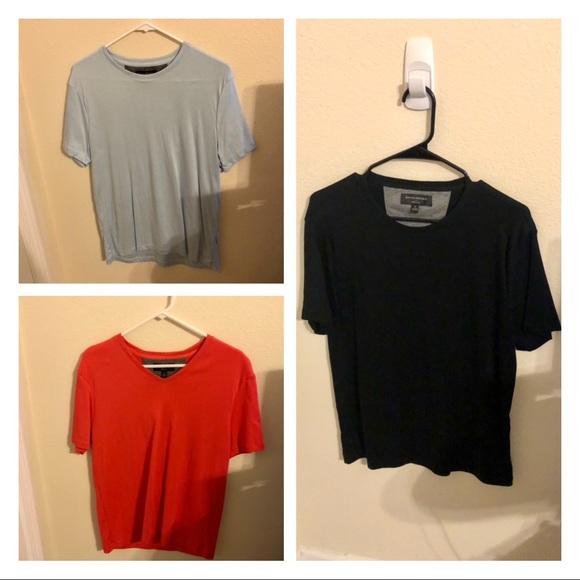 Banana Republic, Mens size Medium, dress tee shirts, bundle of all 3, worn once.